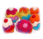 Felt Ball, Felt craft, Nepal Felt, wool, felt products, felt shoes, kathmandu, felt products from Nepal